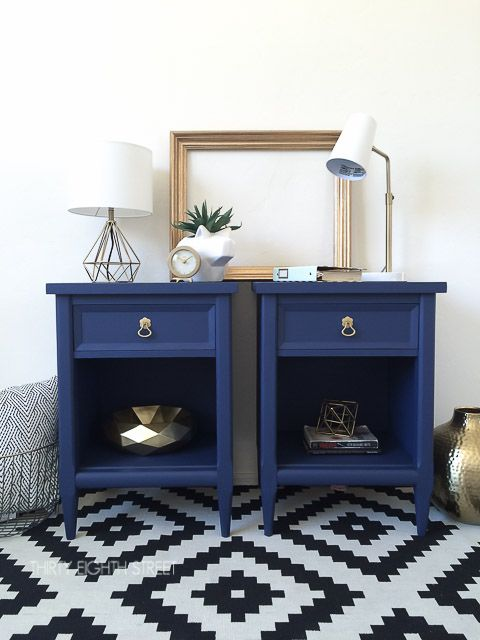 DIY Night Stands Refinished With Chalk Paint®