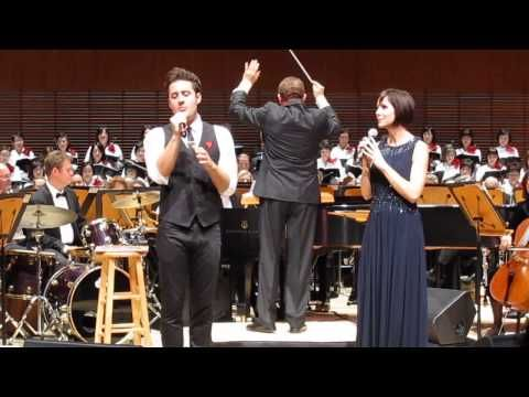 Nick Pitera and Susan Egan singing the Prayer. Both have a wonderful talent - not just to sing, but to entertain.