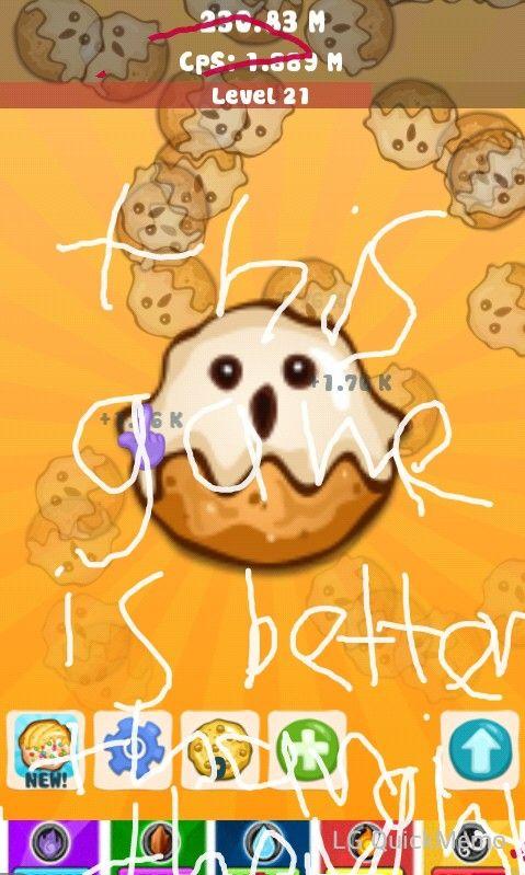 Cookie Clicker Rocks