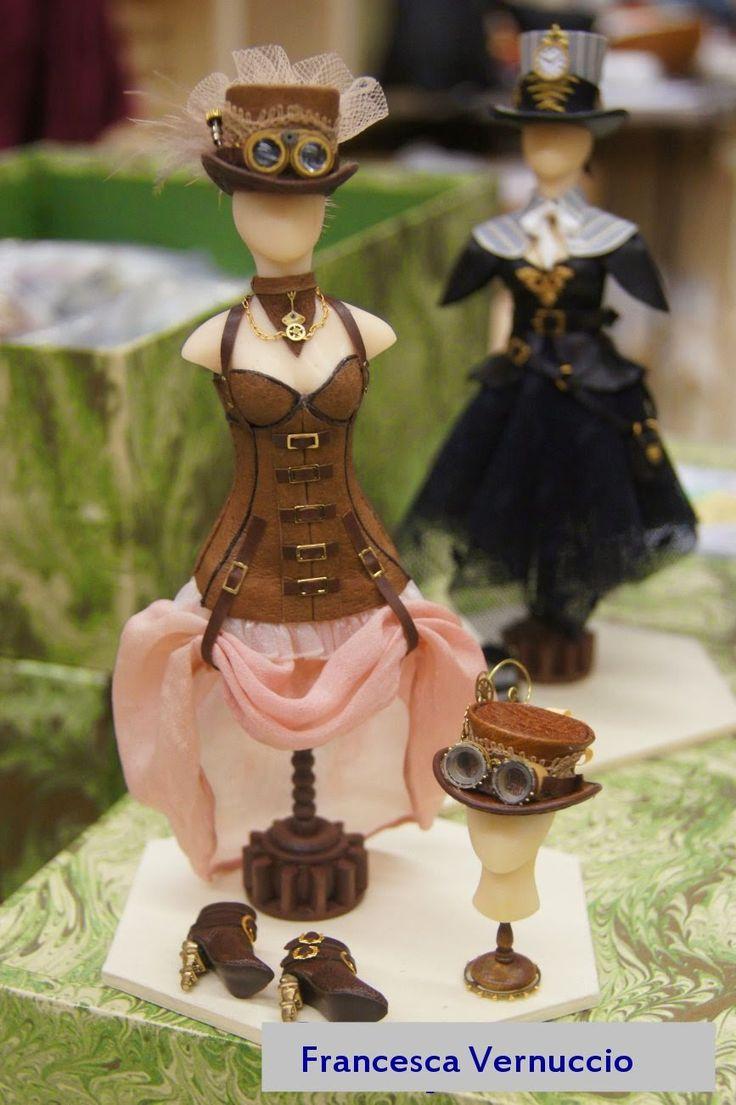 Miniature steam punk costume by Francesca Vernuccio