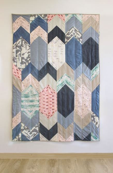 Quilt Pattern - Replay Quilt Kit