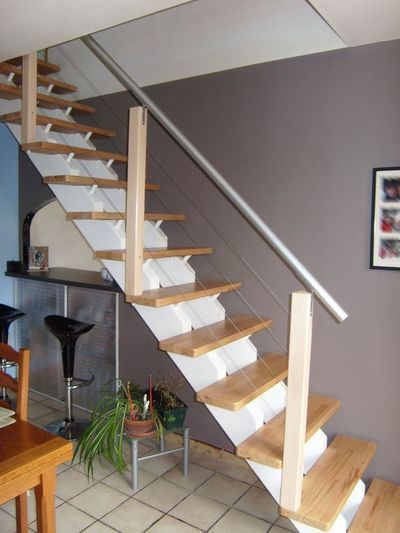 17 best ideas about rampes d escalier on pinterest rampe for Rampe escalier moderne