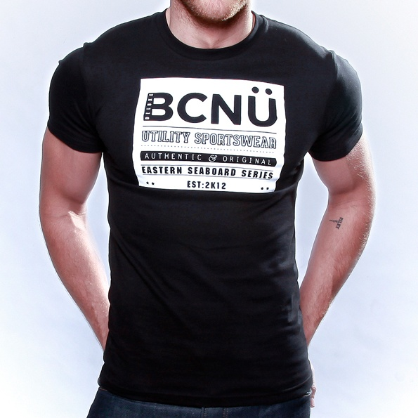 Curiosi-TEE Black  Authentic and original in design this classic   Utili-TEE features a bold design, which will have you standing out in a crowd.    Born To Be Worn 24X7 this UtiliTEE is functional, versatile, sporty and has been designed for everyday use. www.bcnuclothing.com