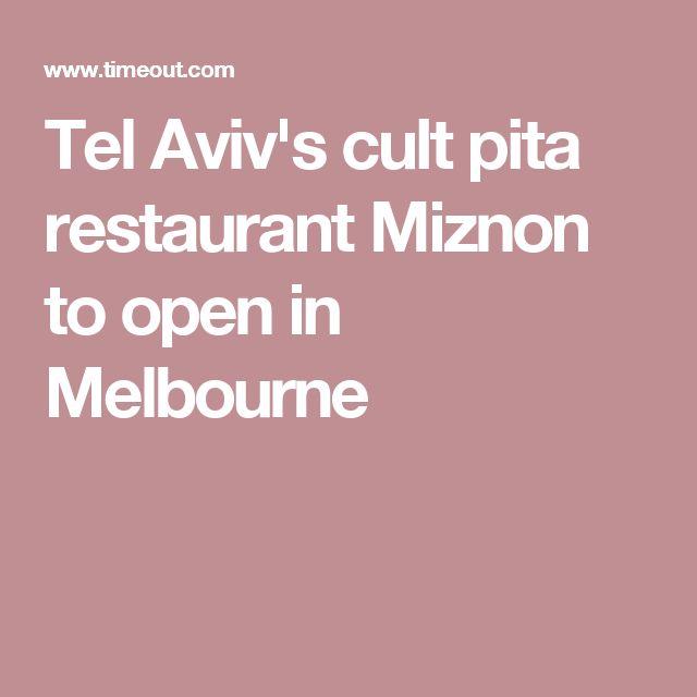 Tel Aviv's cult pita restaurant Miznon to open in Melbourne