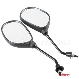 Rearview Mirror for GY6 50cc 150cc 250cc Scooters Moped