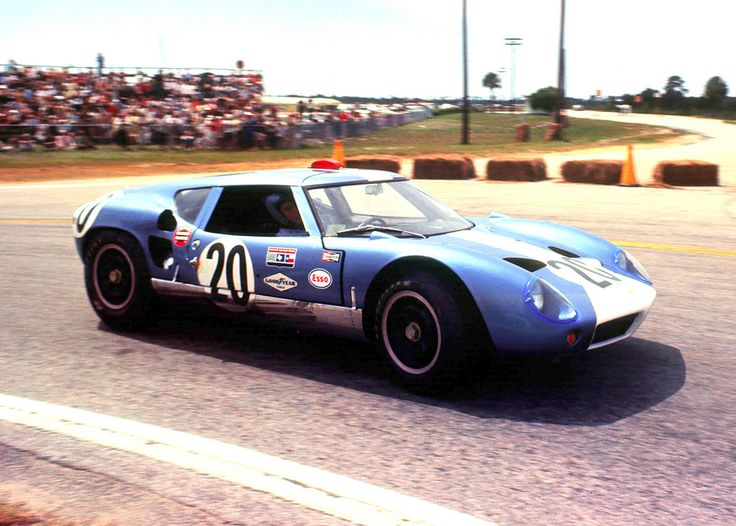 The Mecom Racing Lola Mk6 GT Of Augie Pabst And Walt