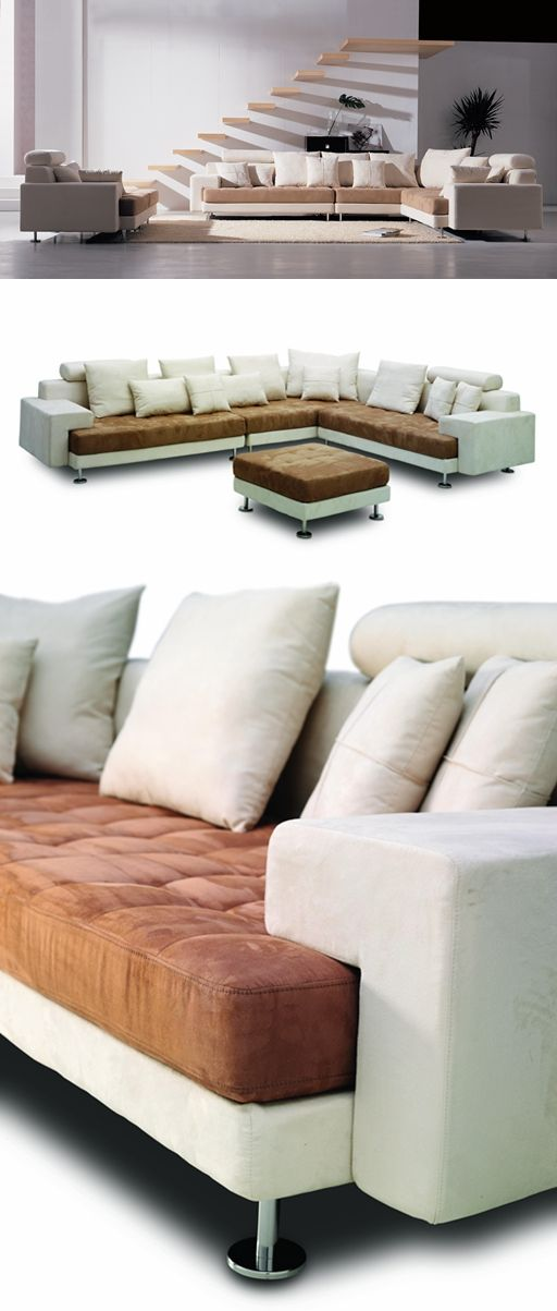 Sofa Manufacturer Modern style Tufted Sectional Sofa ...