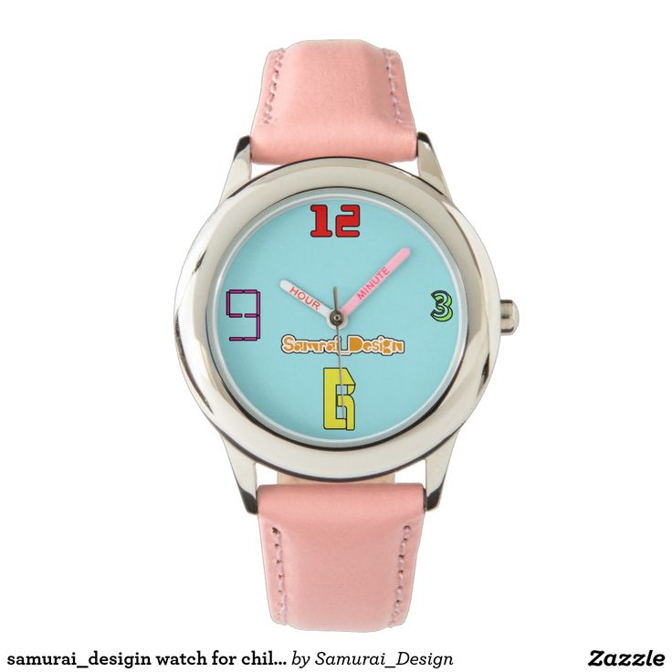 samurai_desigin watch for children