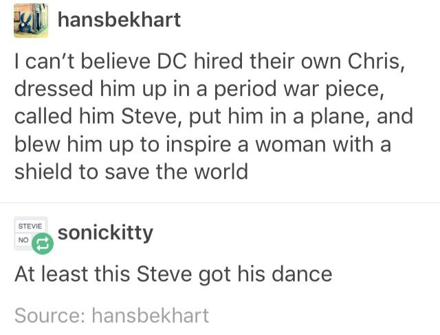 <<< it's growning and yes, DC Steve got his dance...