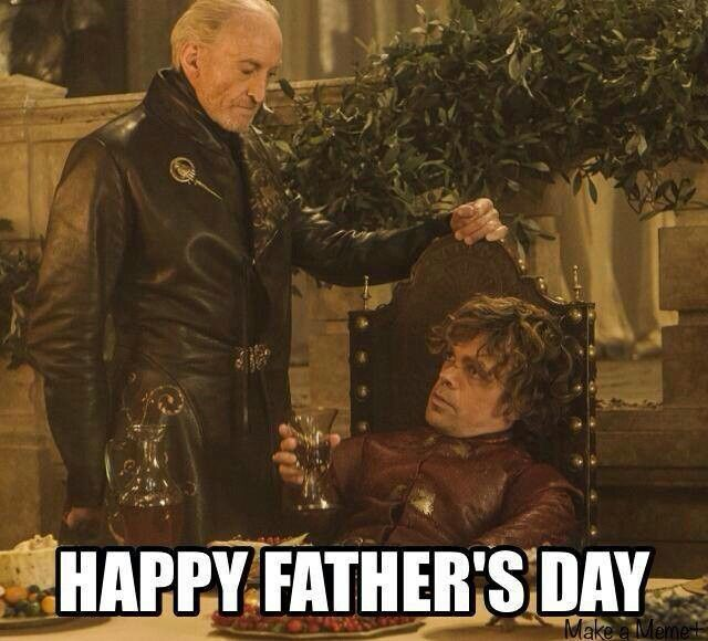 happy fathers day tyrion meme