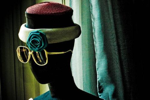 Vintage Flower Hat - Cappello Vintage con fiore