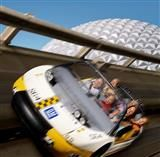 Test Track! My dad is a retired GM employee so he used to be able to bring us inside and up to the offices in the pavilion where we could look out over the park.  Go GM!! Wouldn't you be thankful too?