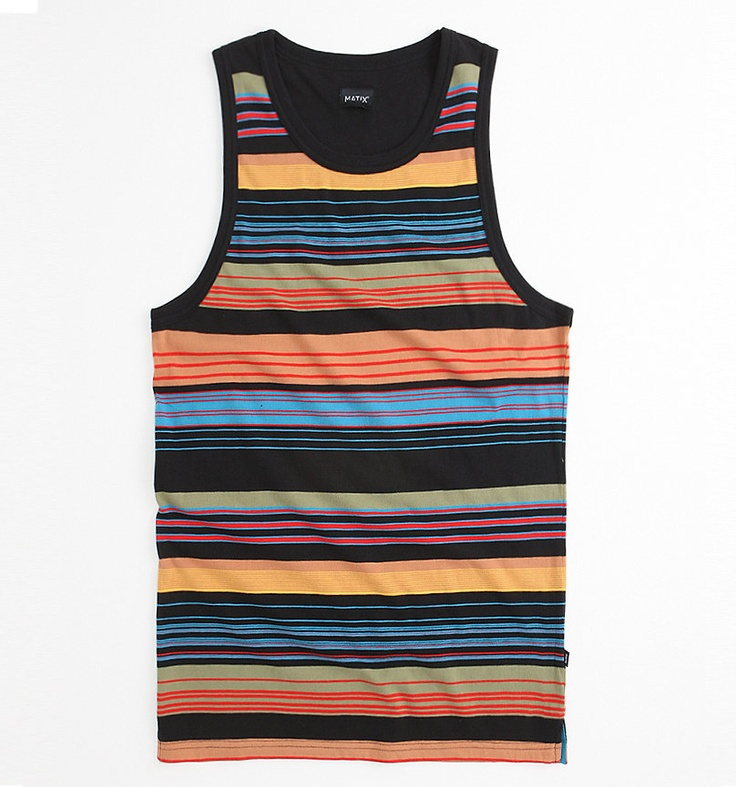 Matix Cross Section Tank from Pacsun. Cool design and colorway. $25 #swag #summer #tank #colorful #stripes #awesome: Stripes Awesome, Fashion Thug, Swag, Clothing Style, Colors Stripes, Coast Holidays, Summer, Beaches Clothing, Tanks