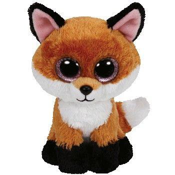 Ty Beanie Boos-Slick the Fox!