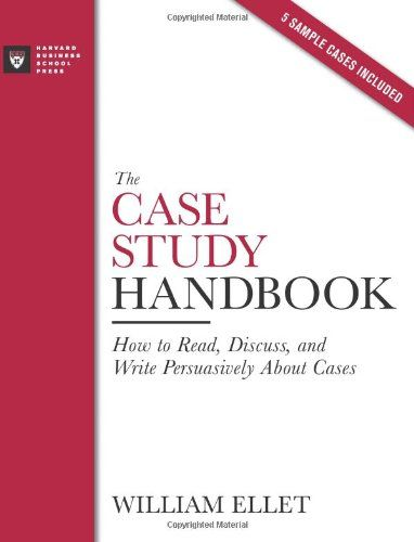 9 best case studies images on pinterest case study inbound bestseller books online the case study handbook how to read discuss and write fandeluxe Gallery