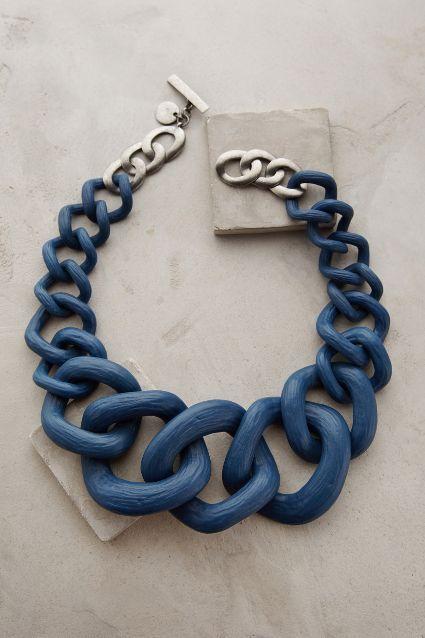 Crescendo Link Necklace - anthropologie