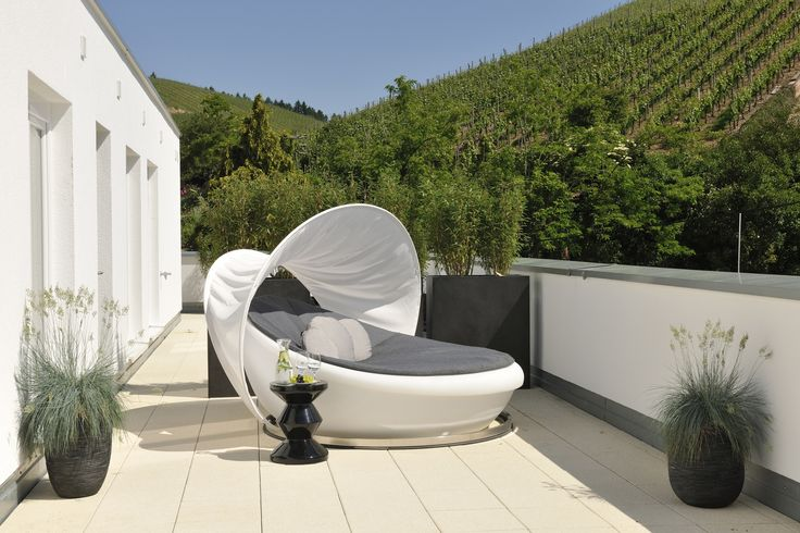 Sonnenterrasse - Aussicht über Durbach - Weinreben - Durbach - an der badischen Weinstraße - Hotel Ritter Durbach - 1.200 qm Spa Fläche - Genuss - entspannen