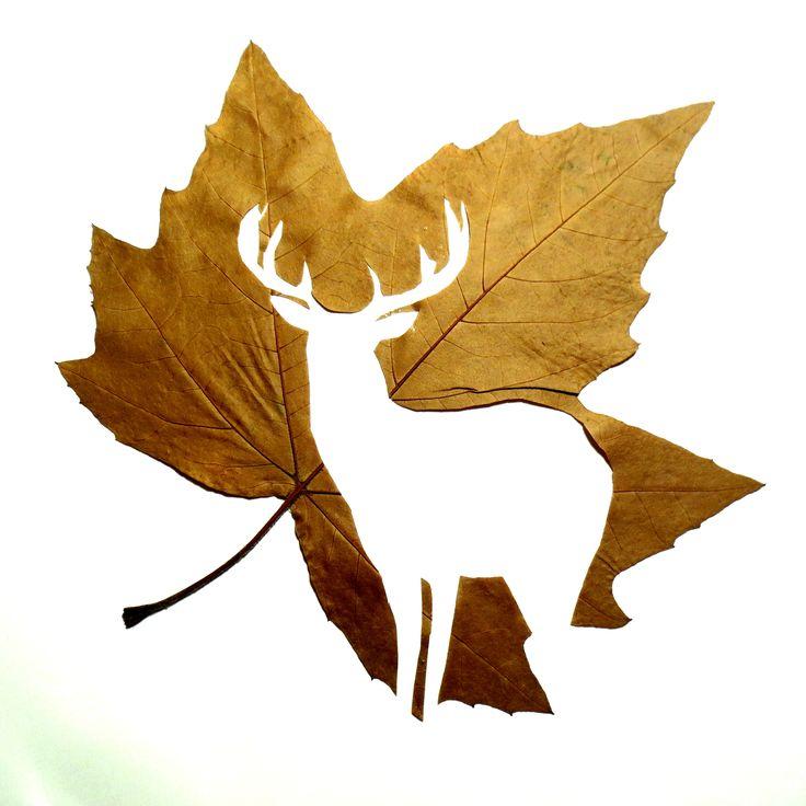 Fine Oddity - Hand Cut Deer Silhouette