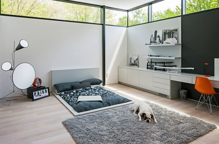 Modern Architecture With Sunken Bed | The Best Wood Furniture
