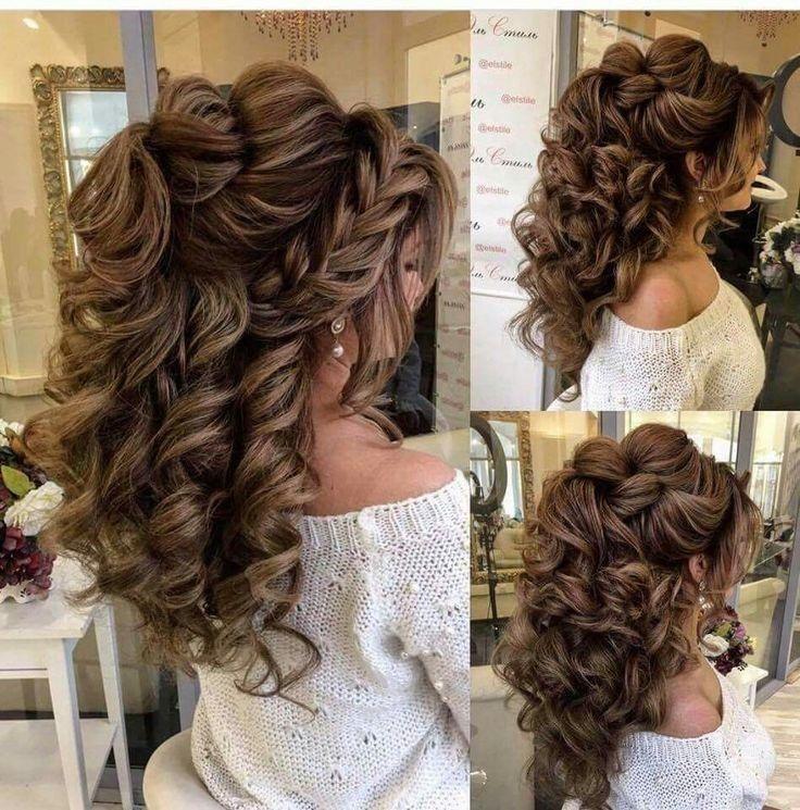 تسريحات الشعر للعرايس تسريحات و شينيون للأعراس روعةة تسريحات انيقة و فخمة للأعراس اجمل الموديلات Wedding Hair Inspiration Hair Styles Hairstyle