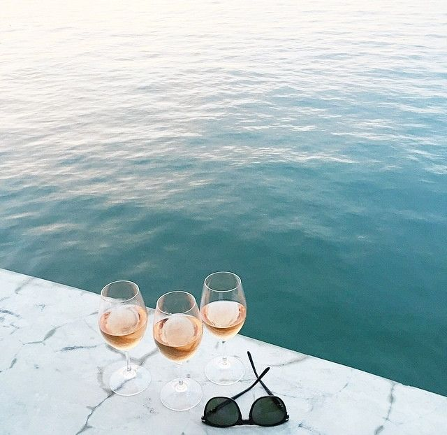 rosé with a view all summer long