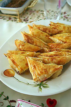 portakal ağacı: paçanga böreği & ıspanaklı kiş