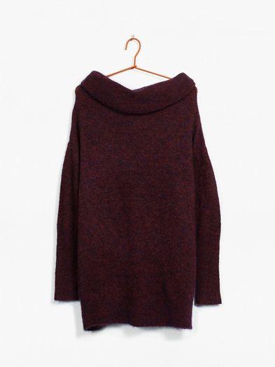 Lourdes pullover | 7169149 | Rød | BikBok | Norge