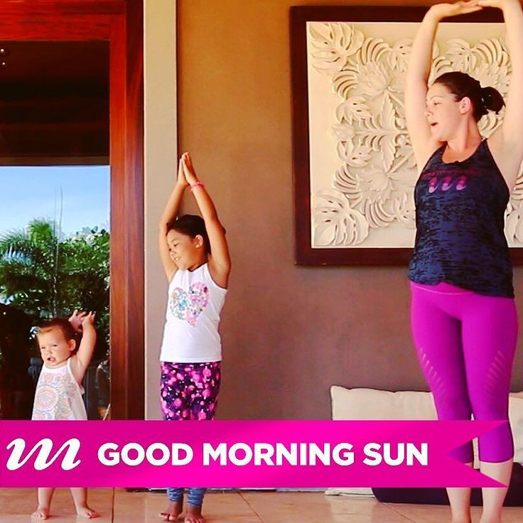 Want to do some yoga but have #kids to care for? Our very own Allison Rote ( @yoga_mama123 ) has just the thing for you with her latest #yogavideo on myMOJO.tv: Good Morning Sun!   This fun quick practice will help you get your yoga in and have a #giggly good time with your little ones too. Check it out at the mymojo.tv link in our bio!   #mymojoyoga #yogaforkids #kidlife #goodmorning
