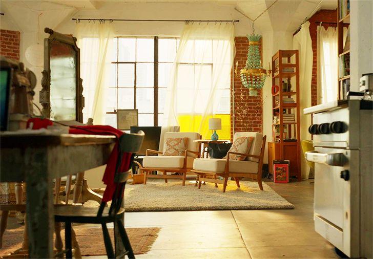 Série Supergirl: a decoração do apartamento de Kara Danvers