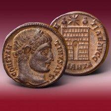 Bronzemünze Konstantin der Große