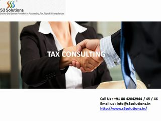 http://www.s3solutions.in/, Contact us at 8042042944 / 45 / 46, or info@s3solutions.in; S3 solutions is leading part time accounting service provider in Bangalore.