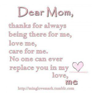 Best 20+ Thank you mom ideas on Pinterest | Psalm 46 5, Thank you ...
