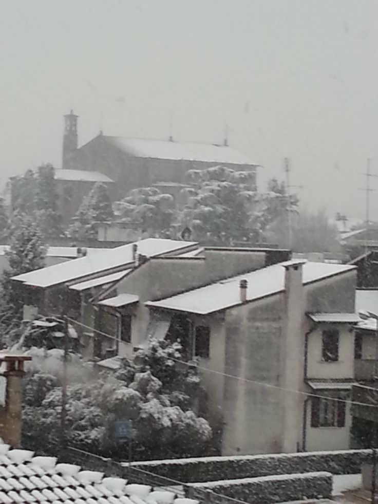 Nevicava...