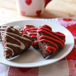 Valentine Brownies by Ingredientsinc