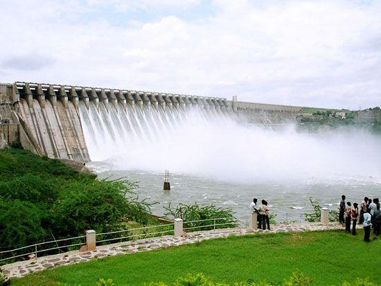 Beauty of Nagarjuna Sagar Dam