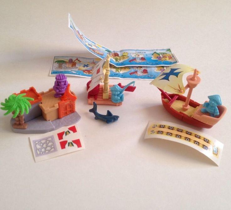 Lot Kinder Egg Surprise Toys Micro Gnomes Pirates Great Pocket Toys | eBay