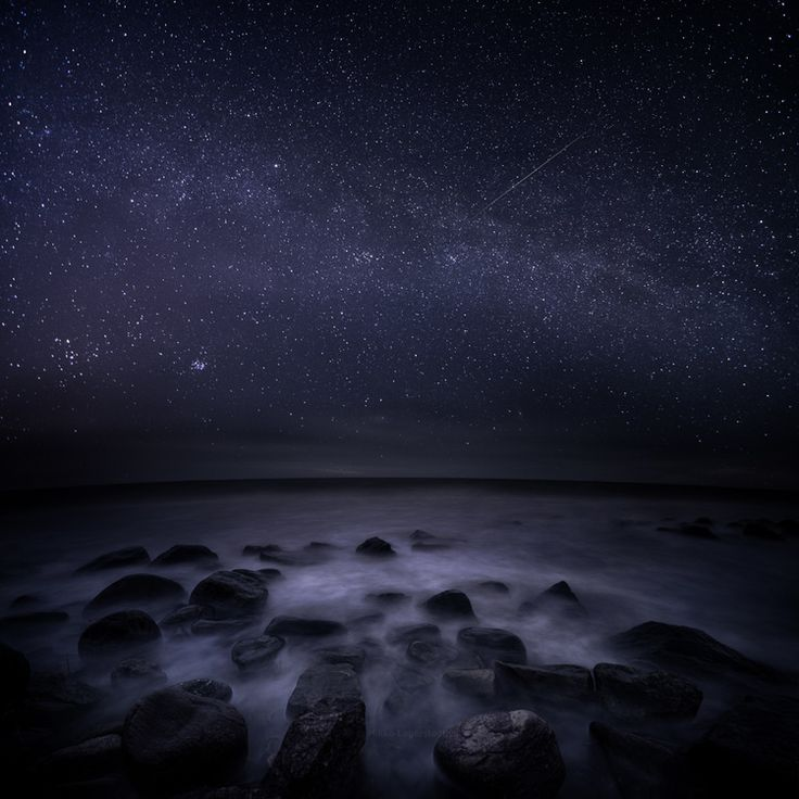 Endless Night - Meri-Pori, Finland - Nikon D7000, 10 mm f/4.5 ISO 1600 30  secs x 5 stacked composite.