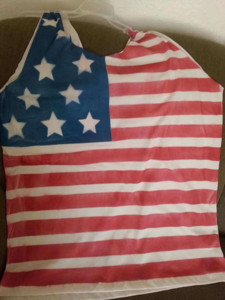 homemade july 4th shirts