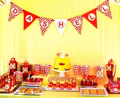 Race Car party ideas/inspiration! ~ Party Frosting