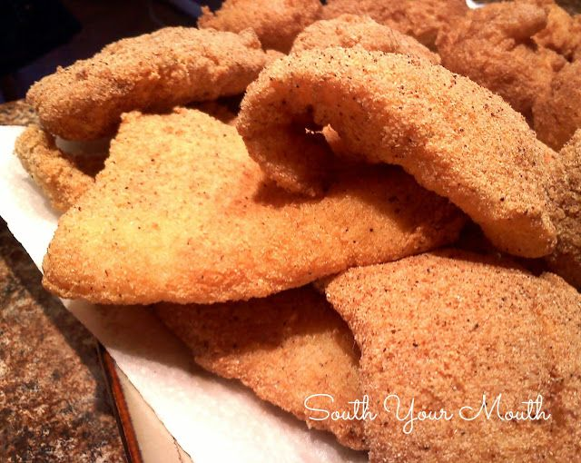 Southern Fried Fish with recipe for homemade cornmeal fish fry!