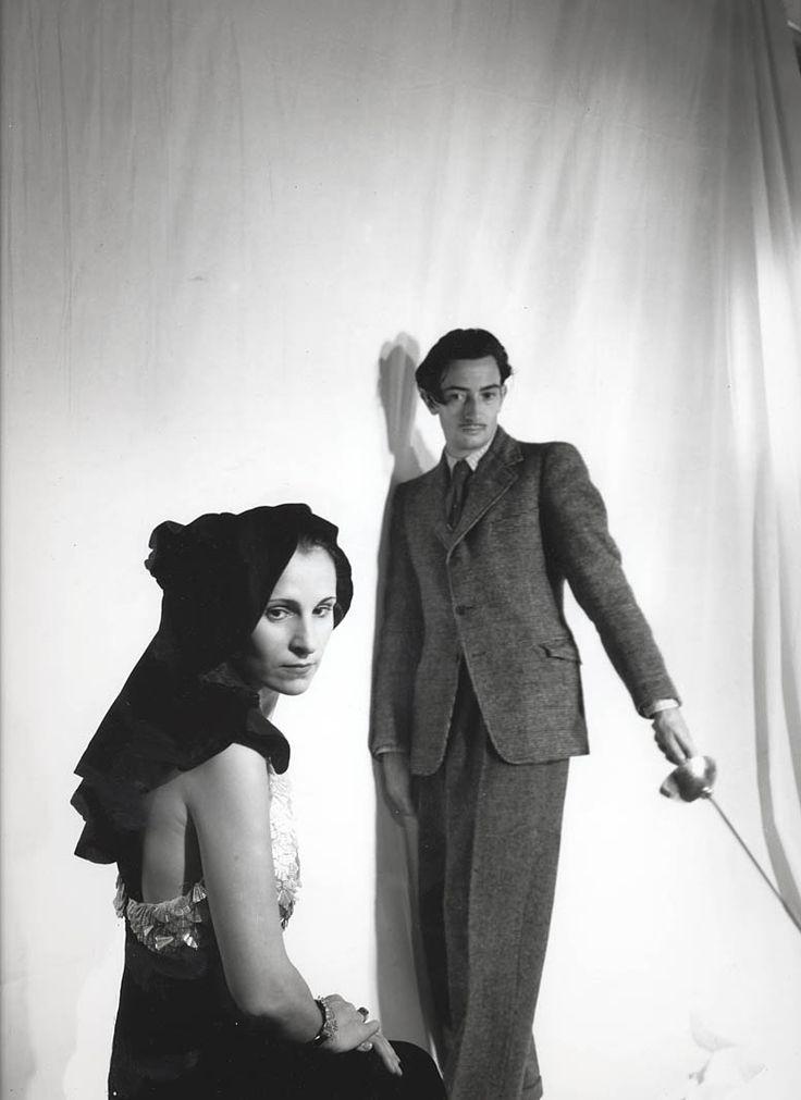 by Cecil Beaton. Salvador and Gala Dali, 1936