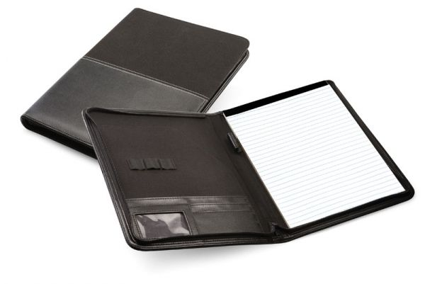 A4 Corporate Zip Around Folder  Colour available : Black Description: A4 Corporate Zip Around Folde