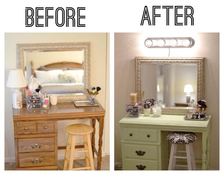 Vanity Redo Http://yvhm.com/diy Makeup Vanity/ Part 31