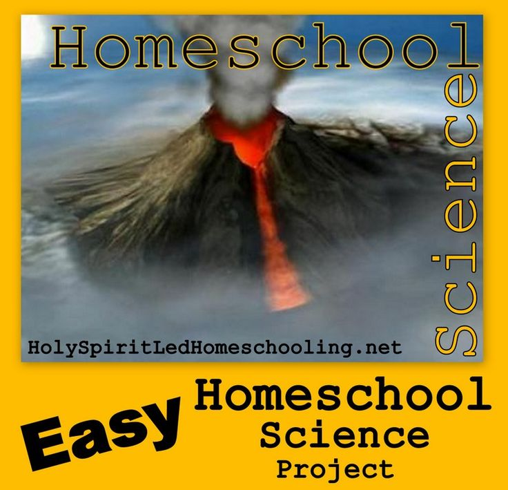 Volcano Science Project & Unit Study Resources: With a few cheap supplies you can make homemade volcanoes for homeschool science! Lots of pictures, tips, lapbooks, links and more!  (HolySpiritLedHomeschooling.net)