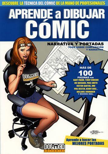 Aprende a Dibujar Cómic (10 Volúmenes, Idioma Español, Formato PDF, más de 1000 páginas)