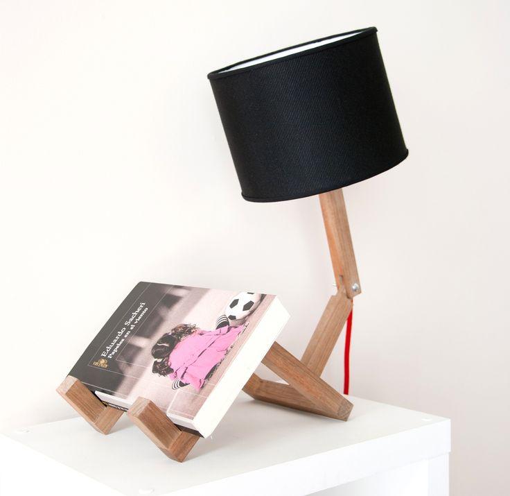 17 mejores ideas sobre l mpara de madera en pinterest - Lamparas de mesa originales ...