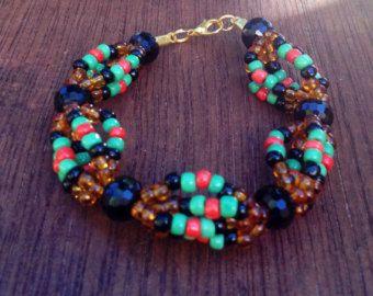 Oshun Eleke Ochun Collar Santeria Yoruba Orisha