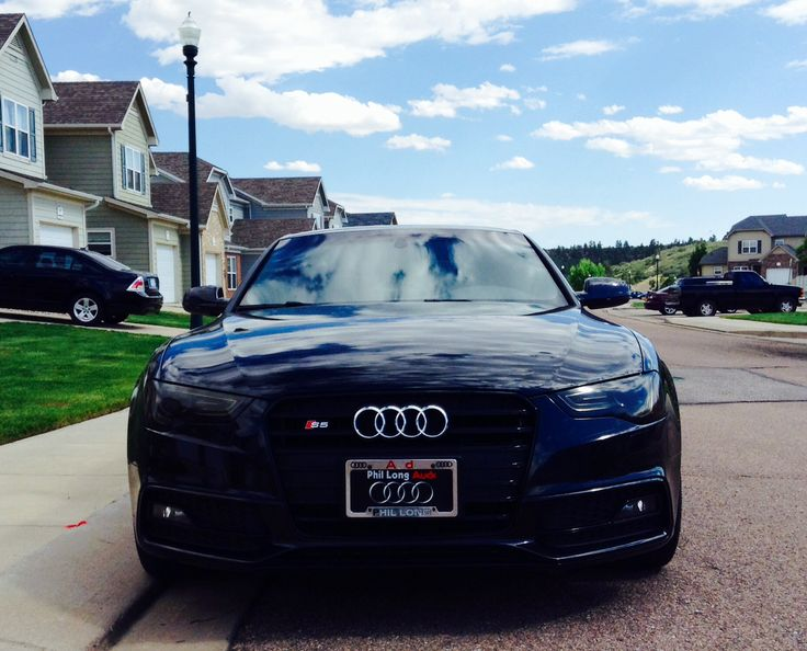 My black beauty. 2014 Audi S-5