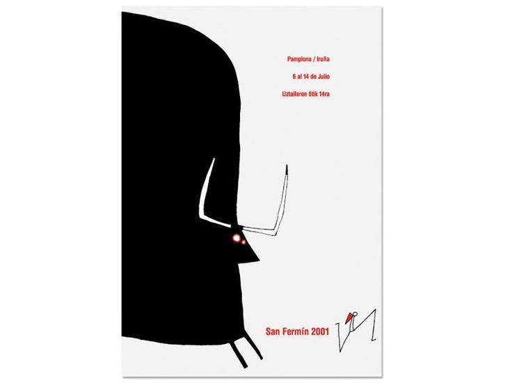 Poster San Fermin 2001