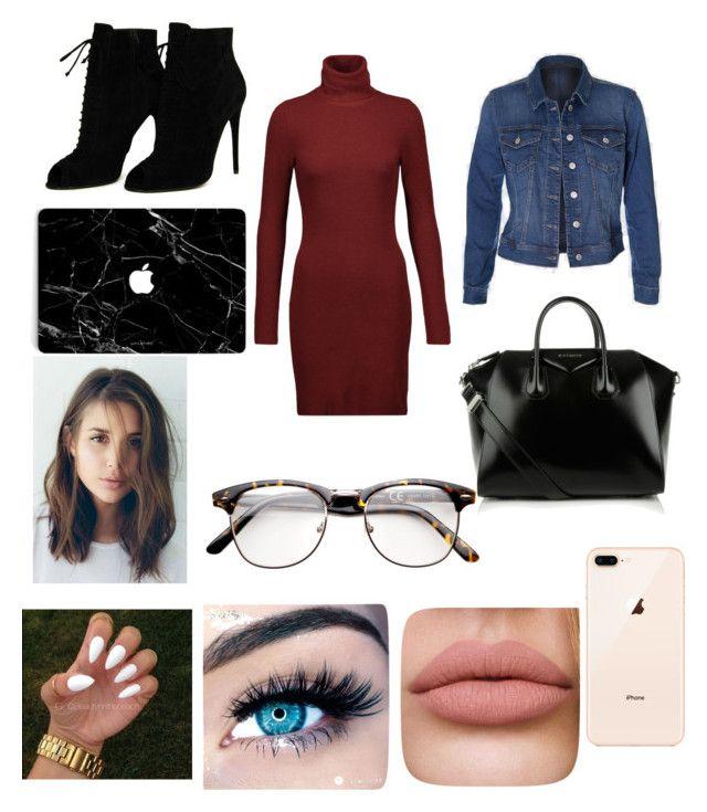 """Sans titre #30"" by audree-bellefleur on Polyvore featuring mode, A.L.C., Tom Ford, Givenchy et MINX"